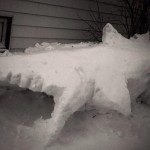 award winning winter snow sculpture
