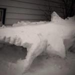 award winning winter snow sculpture